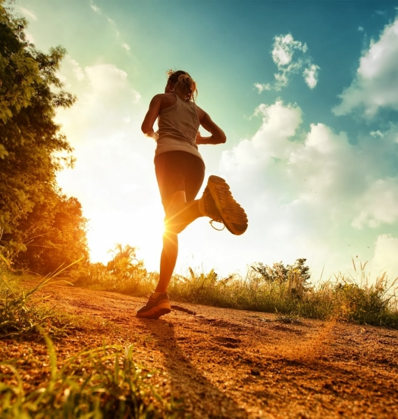 Running is a great way to get into shape